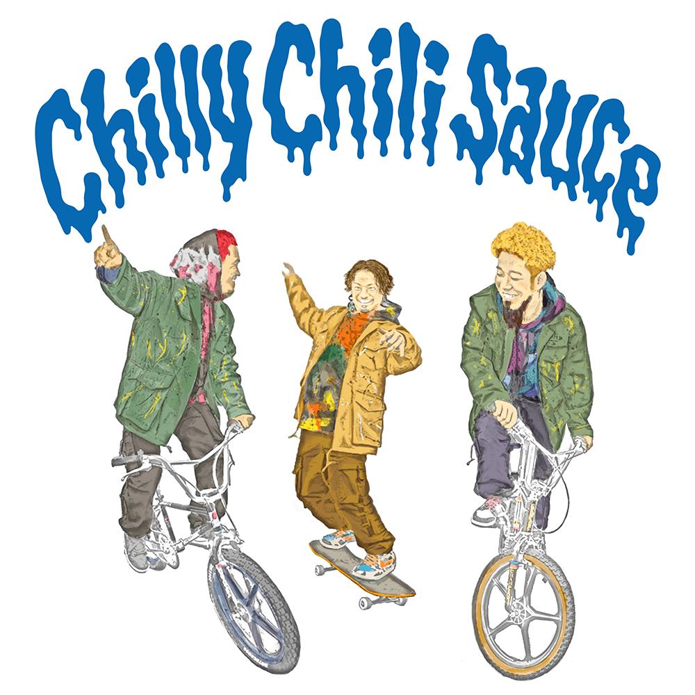 WANIMA 6th Single「Chilly Chili Sauce」ジャケット画像