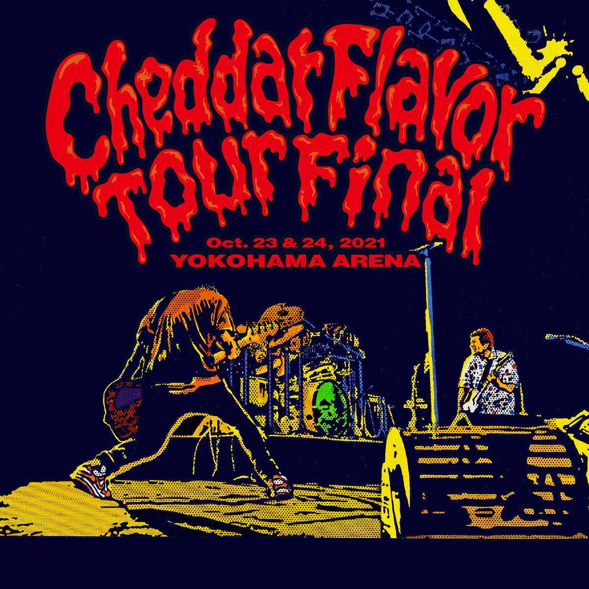 Cheddar flavor Tour Final